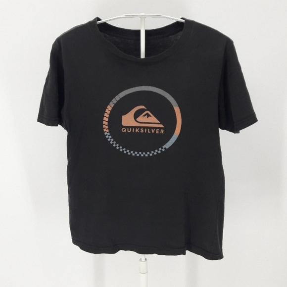 Quicksilver Boy's M/12 Comfy Black T-shirt